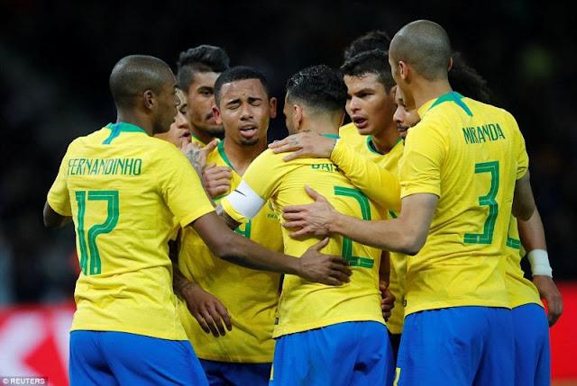 Legenda Brasil Juga Jagokan Jerman