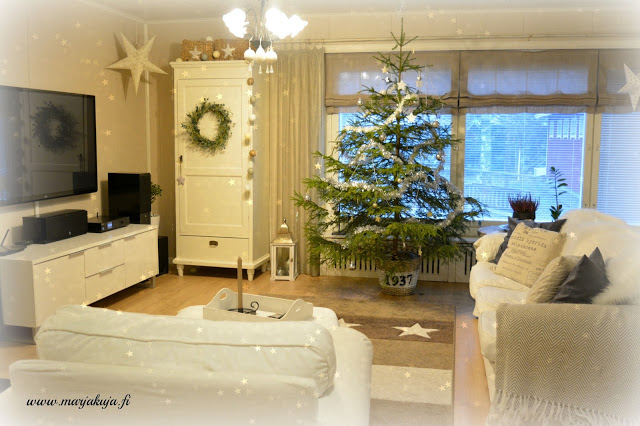 joulu koti joulukuusi olohuone ektorp