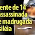 Adolescente de 14 anos é assassinada durante madrugada em Brasiléia