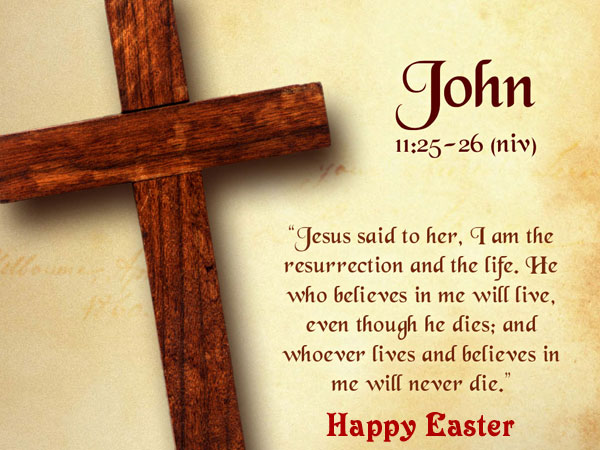 Easter Bible Verse Wallpaper