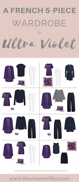 A French 5-Piece Wardrobe in Ultra Violet