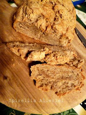 leckeres und schnelles selbst gemachtes Brot mit Sauerteig