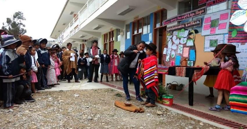 Culminó encuentro de niños y niñas en Redes Educativas Rurales de la UGEL Abancay