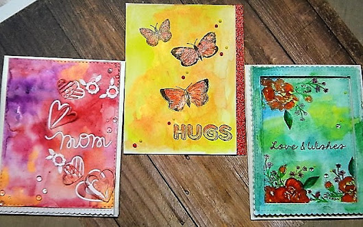 WATERCOLOUR CARDS - ANY OCCASION - LFL