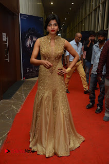 Actress Sai Dhansika Pictures in Long Dress at Kaabali Auido Launch  0098