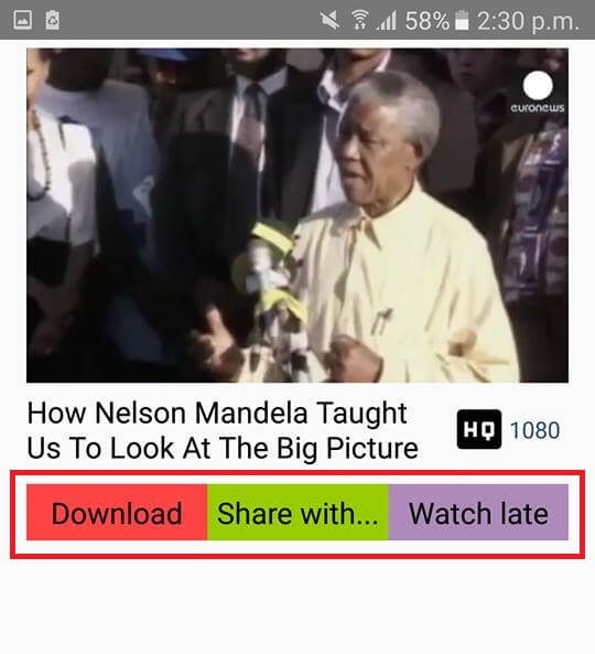 Download Videos in HD from Dailymotion on Android for free using HD Video Downloader