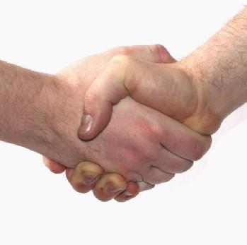 HANDSHAKE FOR PEACE