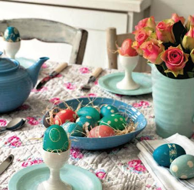 Easter decor, Easter centrepieces, Easter eggs
