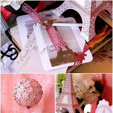 A Pink Vintage Paris Sweet 15th Birthday