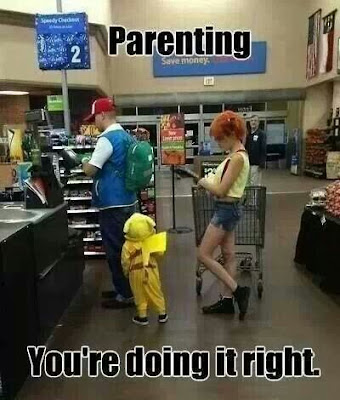 Ash and Misty at the Supermarket