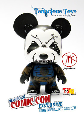 New York Comic-Con 2012 Exclusive Blue Pandaimyo Vinyl Figure by Jon-Paul Kaiser