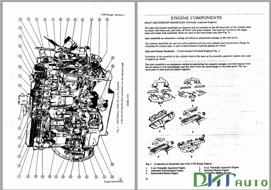 dhtauto: FORD 2700 RANGE DIESEL ENGINE WORKSHOP MANUAL
