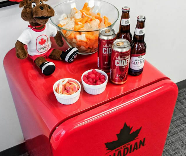 Enter to WIN a Molson Canadian Mini Fridge