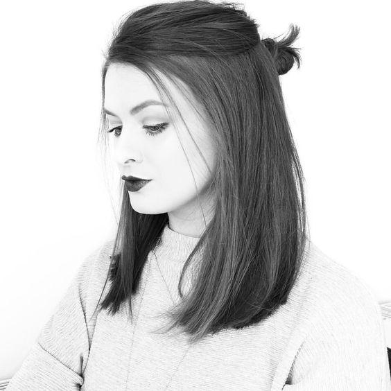 La moda en tu cabello Cortes de pelo medio con el cabello lacio 2017