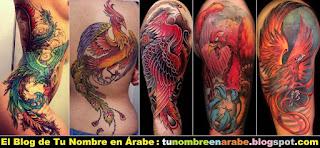 Los mejores tatuajes del ave fenix
