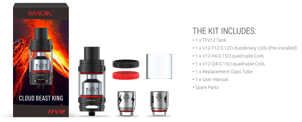 How To Change the Coil on a SMOK TFV12 Tank | How To Use