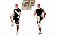 Fitness dan olah raga dirumah dengan high knee