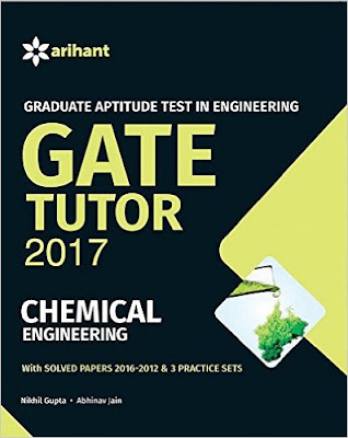 Download Free Arihant Gate Tutor 2017 Chemical Engineering Book PDF