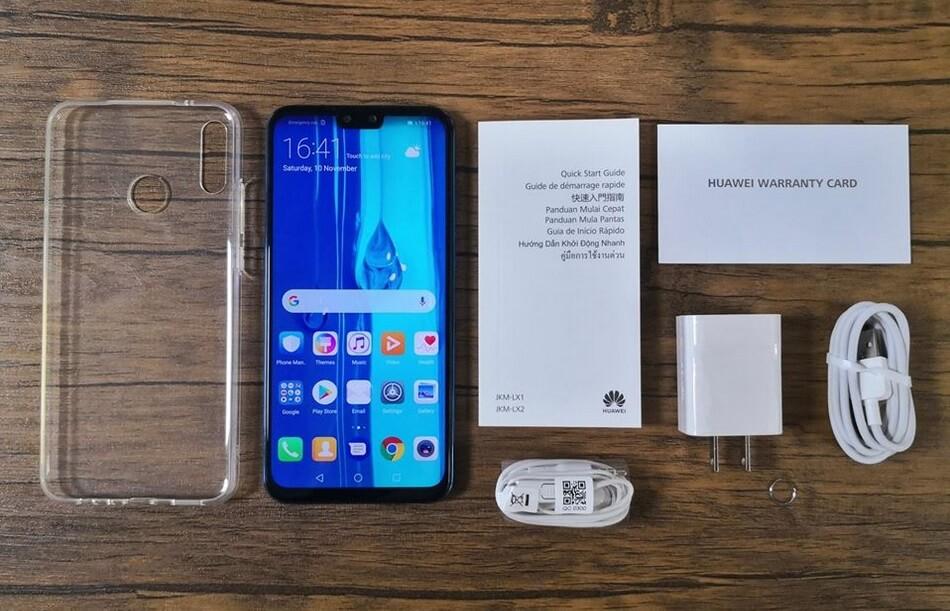 Huawei Y9 2019 Retail Package