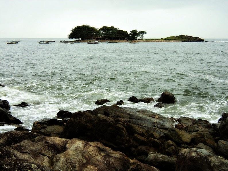 Praia do Grant, em Barra Velha
