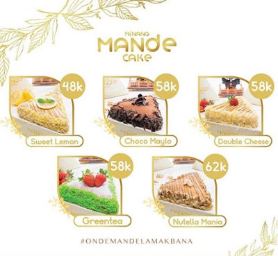 Alamat Minang Mande Cake Oleh Oleh Padang