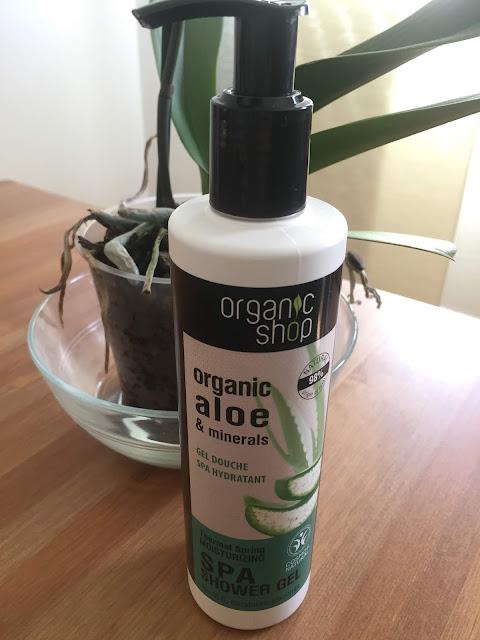 Gel de Aloe Organic Shop