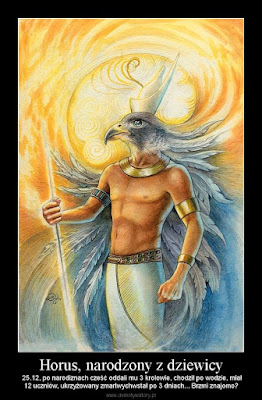 Ataki na Boga i Biblię Horus
