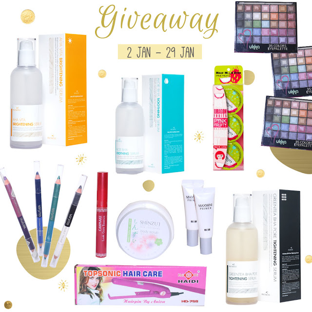 Neulii Korean Serum Giveaway