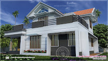 Two-Storey House Plans with Balcony