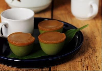 Resep Kue Talam Pandan Gula Merah Hijau Sederhana