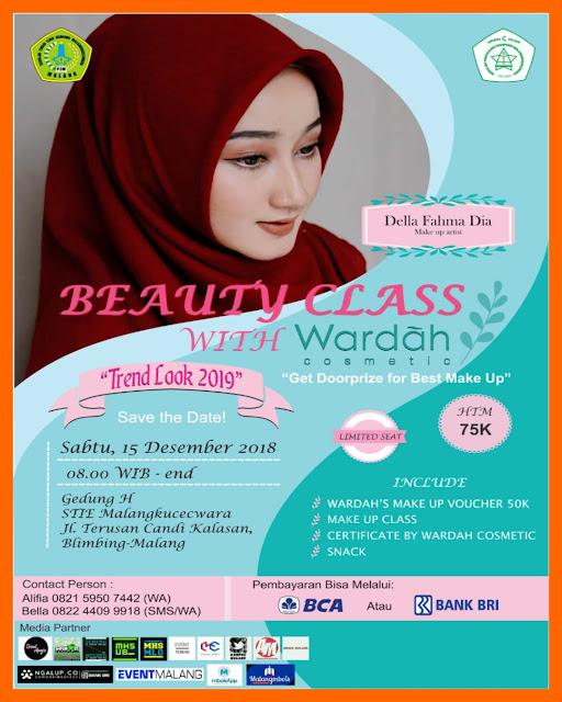 Beauty Class with Wardah Trend Look 2019