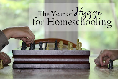 The Year of Hygge for Homeschooling-how to add peaceful rest and fellowship to your year.