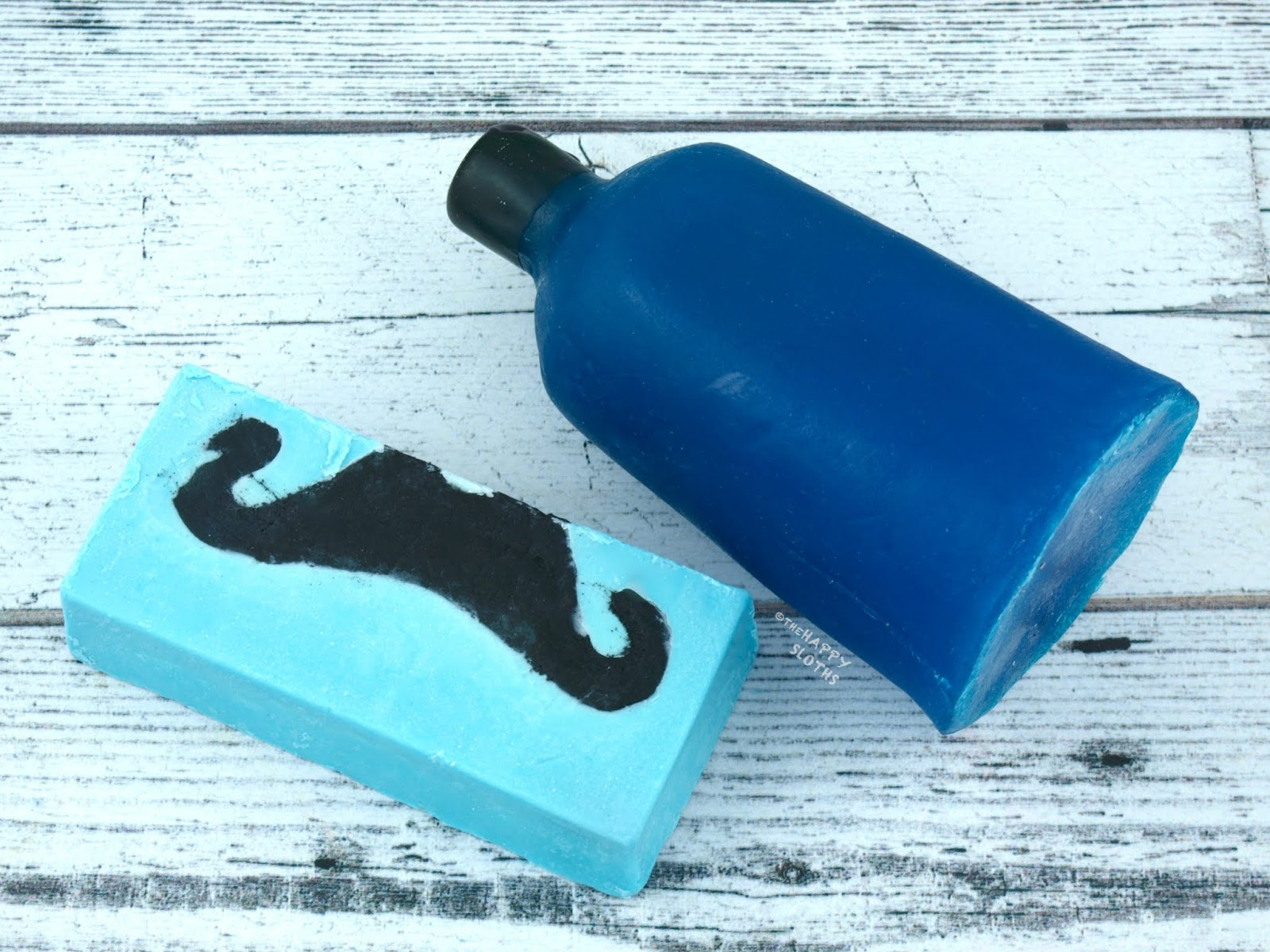 Lush | Father's Day 2018 Collection | Moustachio Soap & Dirty Springwash Naked Shower Gel: Review