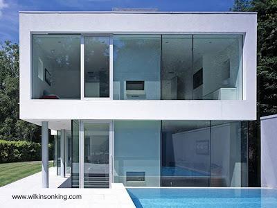 Casa residencial estilo Minimalista en Surrey, Reino Unido