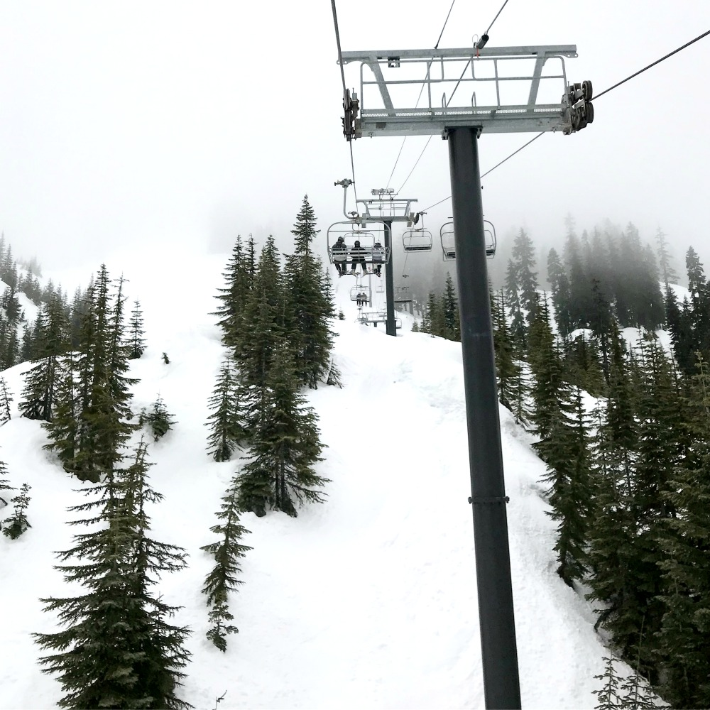 stevens pass chair lift