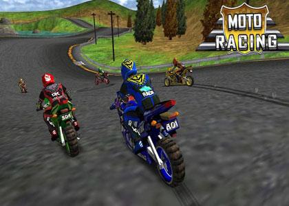 تحميل لعبة الدراجات النارية Motoracing كاملة ومجانية