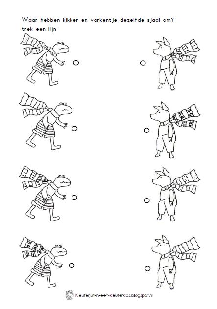 Bekend Kleuterjuf in een kleuterklas: Werkboekje | Thema WINTER LA23