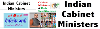 Indian cabinet ministers and their portfolios