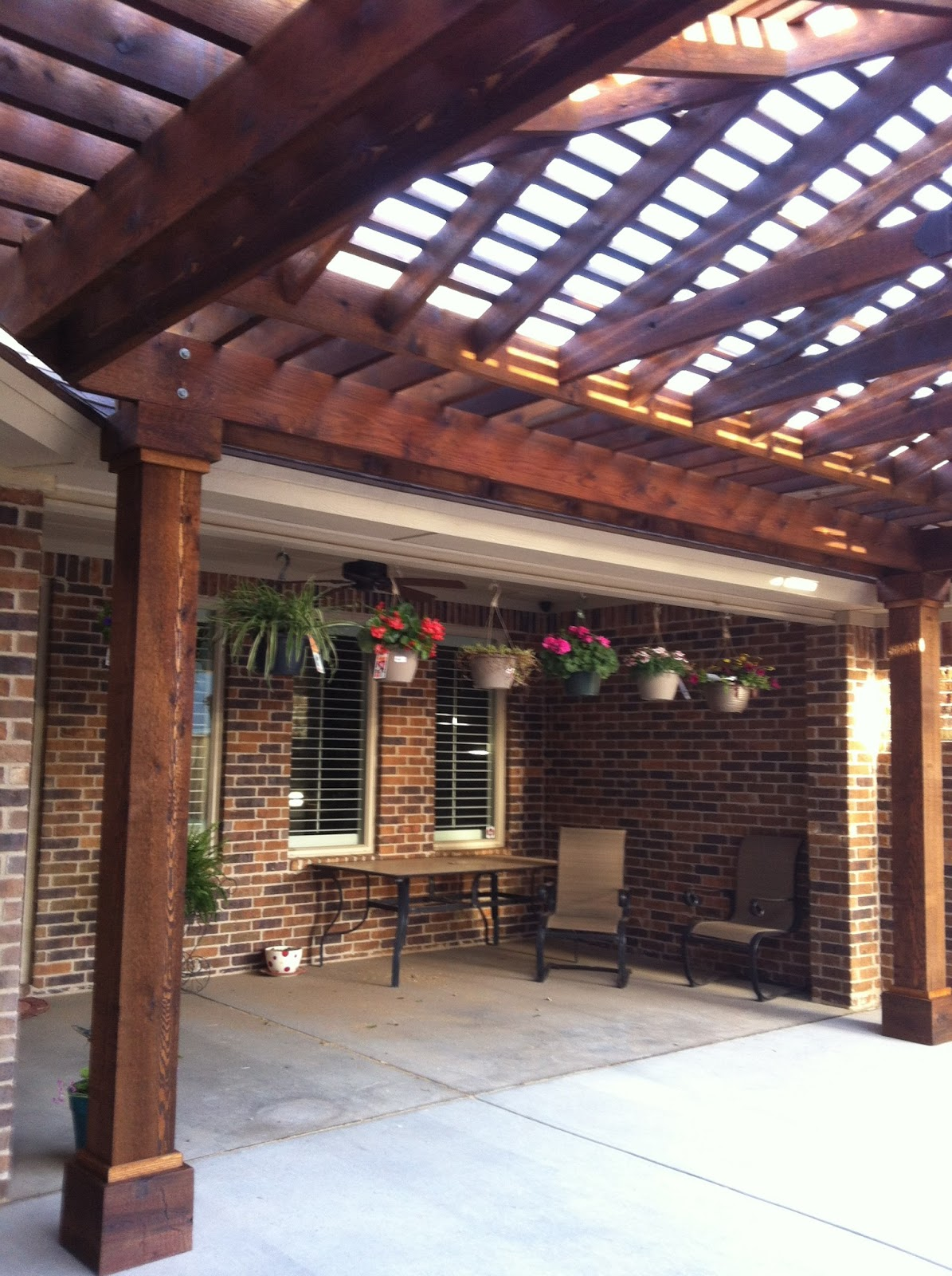 Lubbock Pergola Blog Hip Roof Pergola In Regal Park