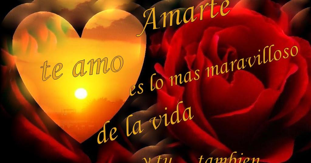 Imagenes De Amor Tarjetas de amor fantasia corazones paisajes rosas