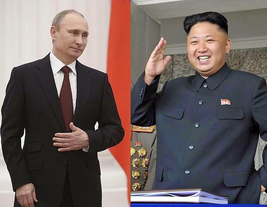 Resultado de imagem para putin e coreia do norte