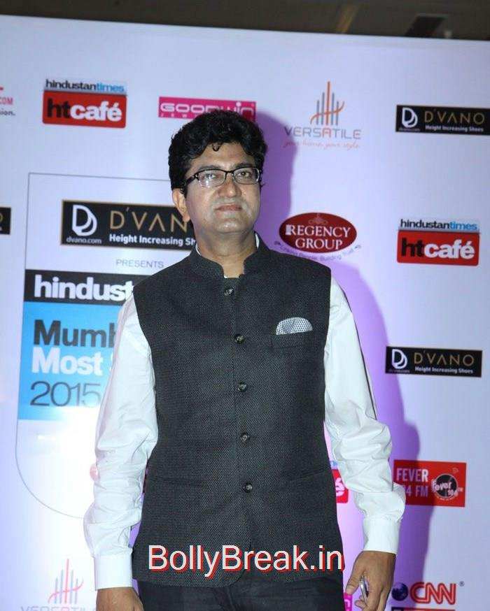 Prasoon Joshi, Mumbai's Most Stylish Awards 2015 Full Photo Gallery