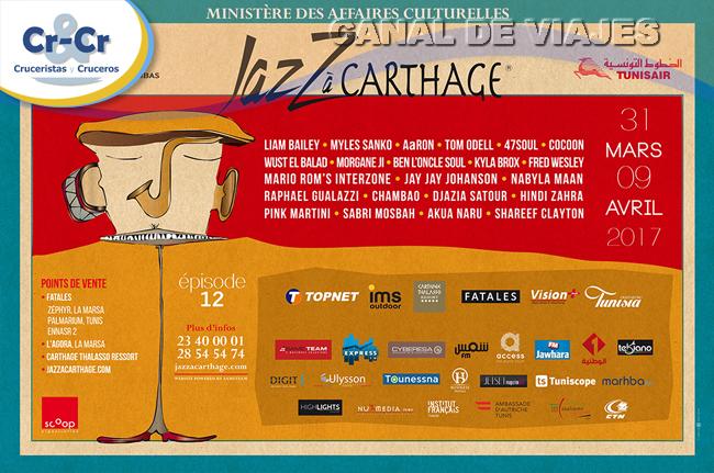 ► Túnez celebra una nueva edición del Festival de Jazz de Cartago
