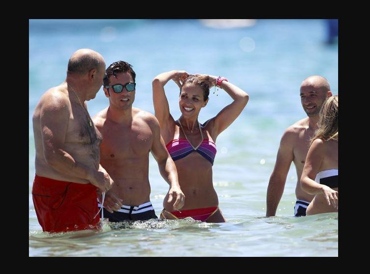 Amistades en la playa