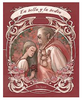 La bella y la bestia, cuento ilustrado por Daniel Alarcón