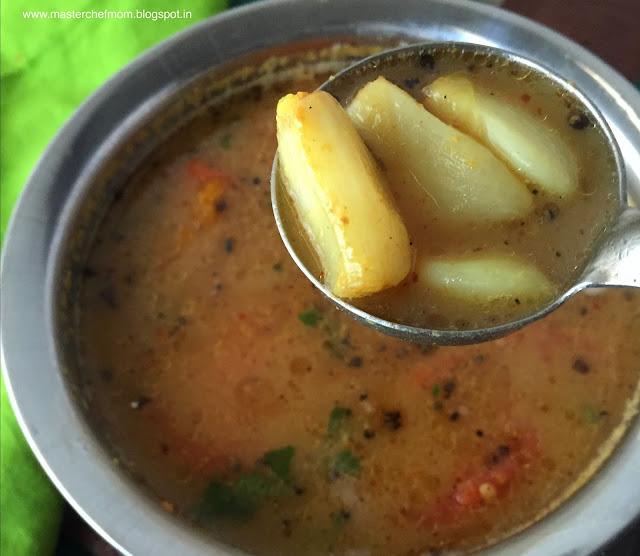 Garlic Rasam- Chettinad Poondu Rasam