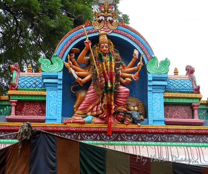 Goddess Sri Ujjaini Mahakali Mata, Secundarabad, Telangana