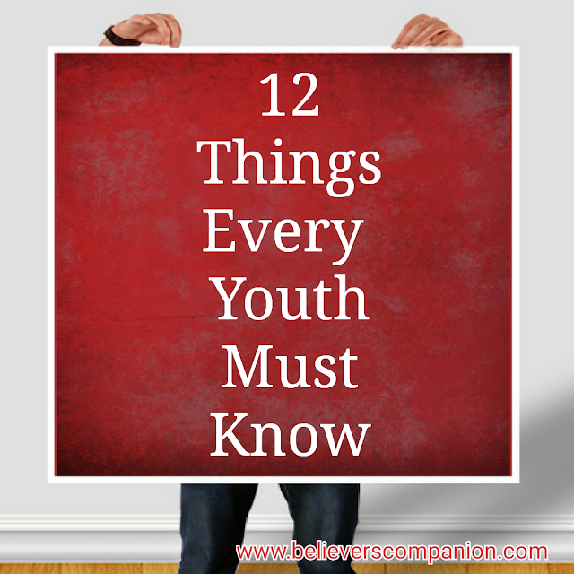 12 things every youth must know