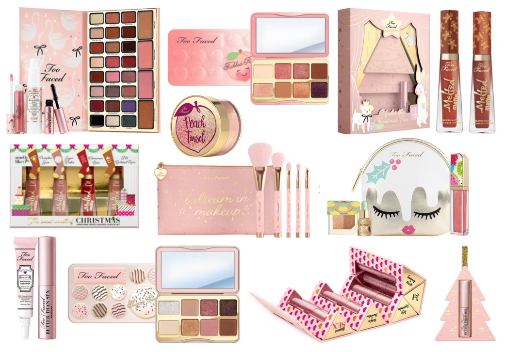 Too Faced Christmas Collection & Gift Sets 2018