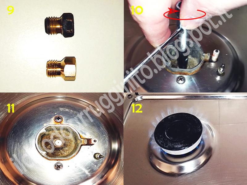 Come pulire o sostituire gli ugelli del gas il chiodo - Pulizia ugelli scaldabagno gas ...